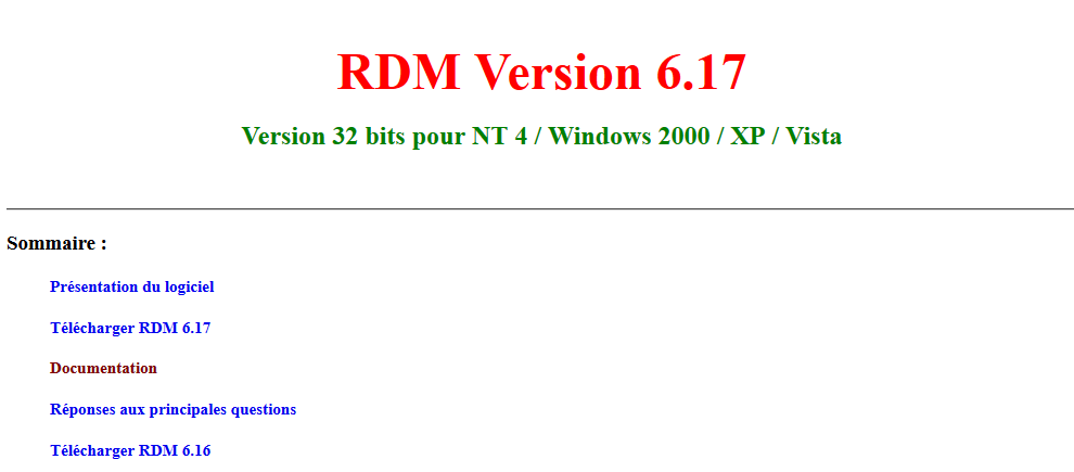 rdm6 windows 7